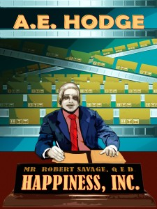 Cover Art for Happiness, Inc.